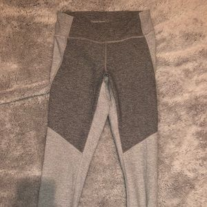 outdoor voices two tone gray legging